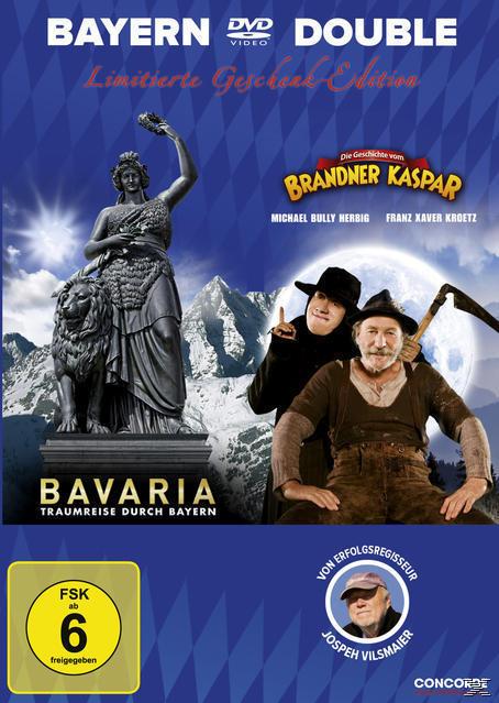 Bavaria - Traumreise durch Bayern, Die Geschichte vom Brandner Kaspar - 2 Disc Bluray (BLU-RAY) für 8,99 Euro