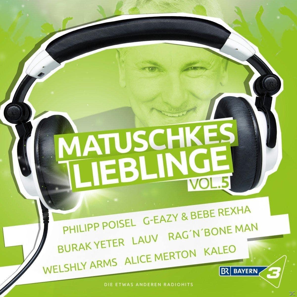 Bayern 3 - Matuschkes Lieblinge,Vol. 5 (VARIOUS) für 21,99 Euro