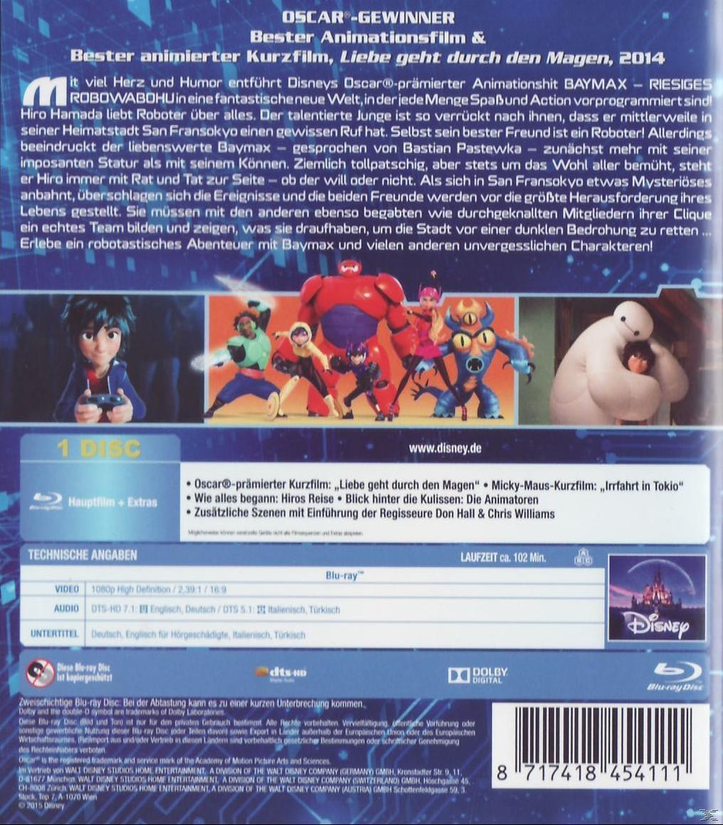 Baymax - Riesiges Robowabohu (BLU-RAY) für 12,99 Euro