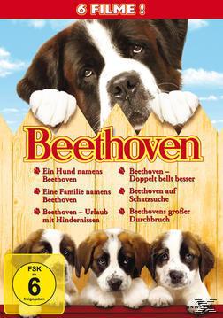 Beethoven - Teil 1-6 DVD-Box (DVD) für 27,99 Euro