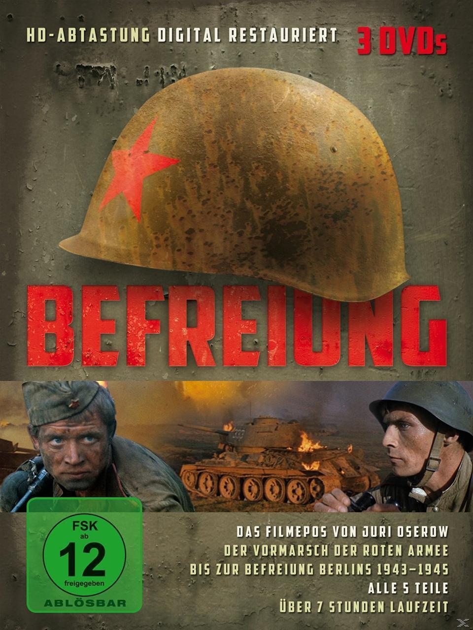 Befreiung DVD-Box (DVD) für 37,99 Euro