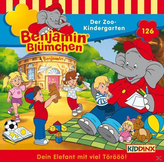 Benjamin Blümchen 126: Der Zoo-Kindergarten  (CD(s)) für 5,49 Euro