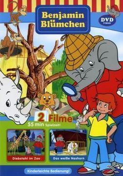 Benjamin Blümchen - Diebstahl im Zoo / Das weiße Nashorn (DVD) für 8,99 Euro