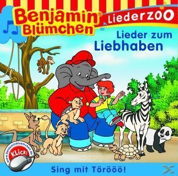 Benjamin Blümchen Liederzoo Lieder zum Liebhaben (CD(s)) für 5,49 Euro
