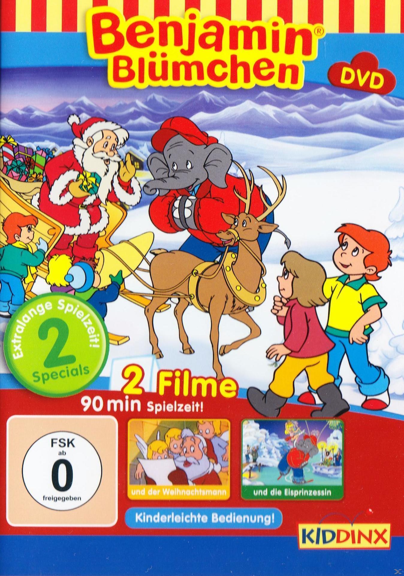 Benjamin Blümchen: Und der Weihnachtsmann/Und die Eisprinzessin (DVD) für 8,99 Euro