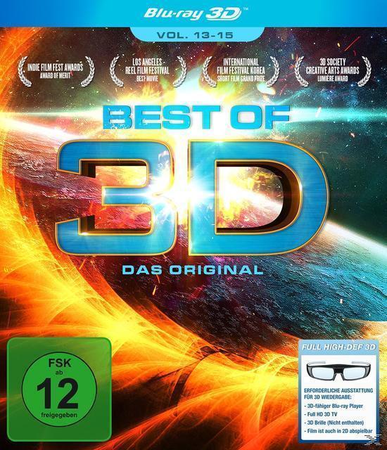 Best of 3D - Das Original - Vol. 13-15 (Bluray 3D) für 13,99 Euro