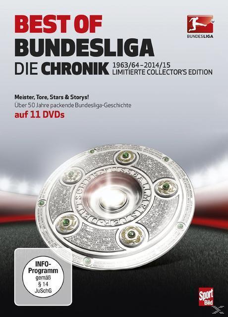 Best of Bundesliga - Die Chronik 1963-2015 (DVD) für 16,99 Euro