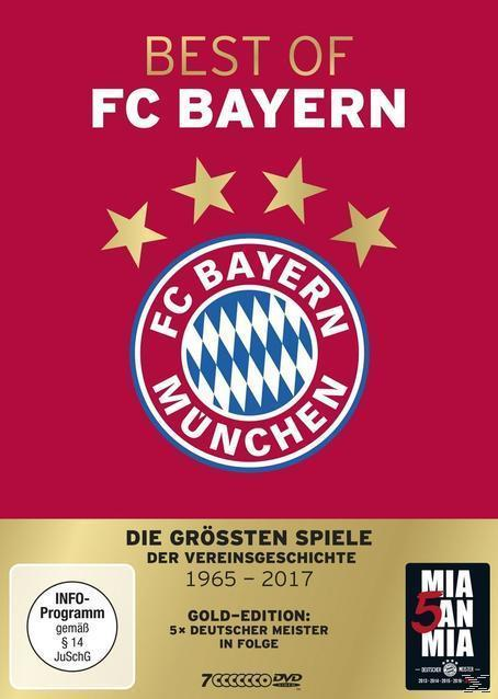 Best of FC Bayern München Gold Edition (DVD) für 29,99 Euro