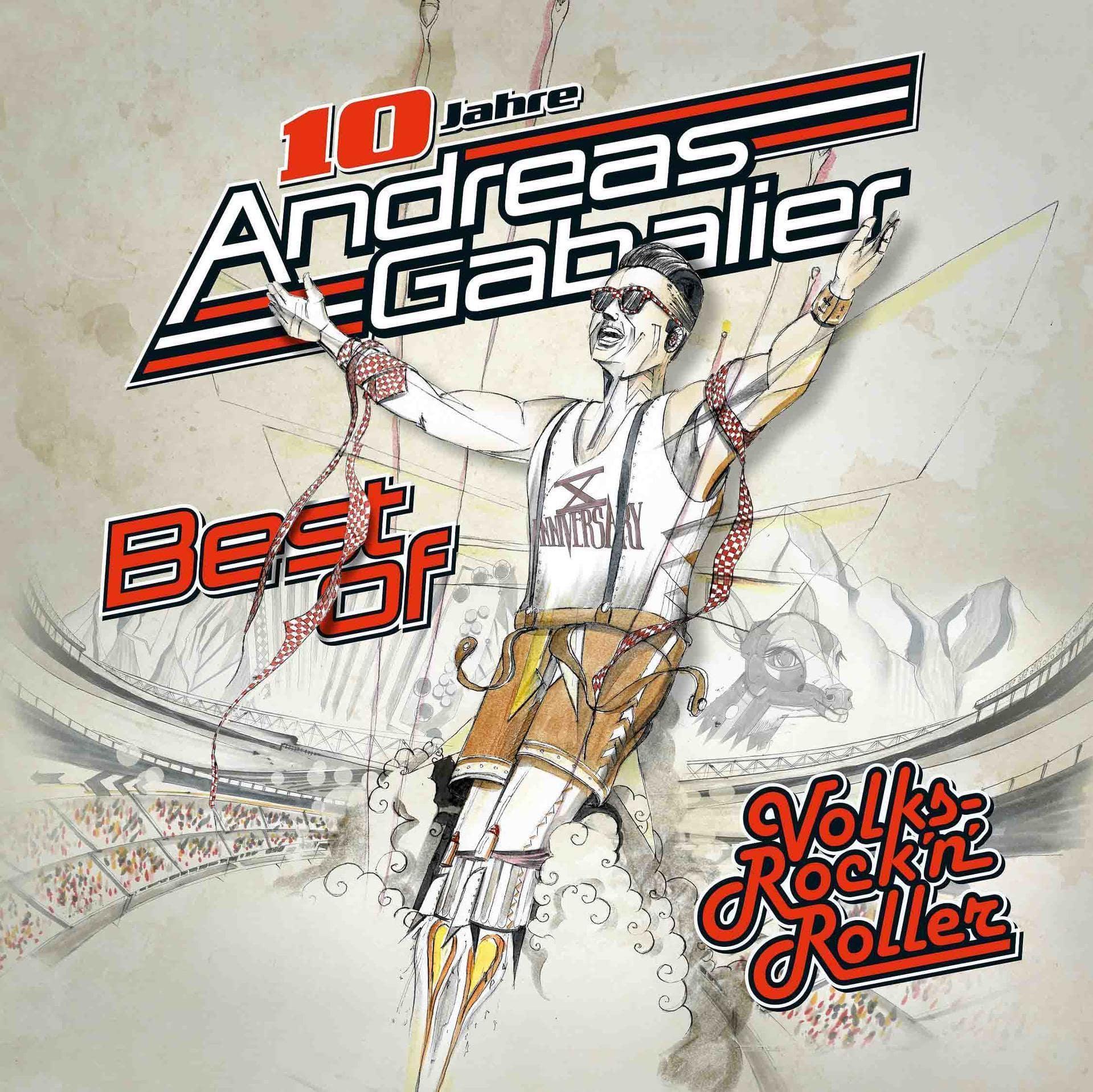 Best Of Volks-Rock'n'Roller (Andreas Gabalier) für 19,99 Euro
