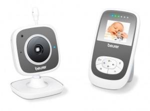 Beurer BY 99 Dual Video-Babyphone Monitor Dual mode HD-Kamera ECO+mode für 199,99 Euro