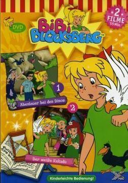 Bibi Blocksberg - Abenteuer bei den Dinos / Der weiße Kakadu (DVD) für 8,99 Euro