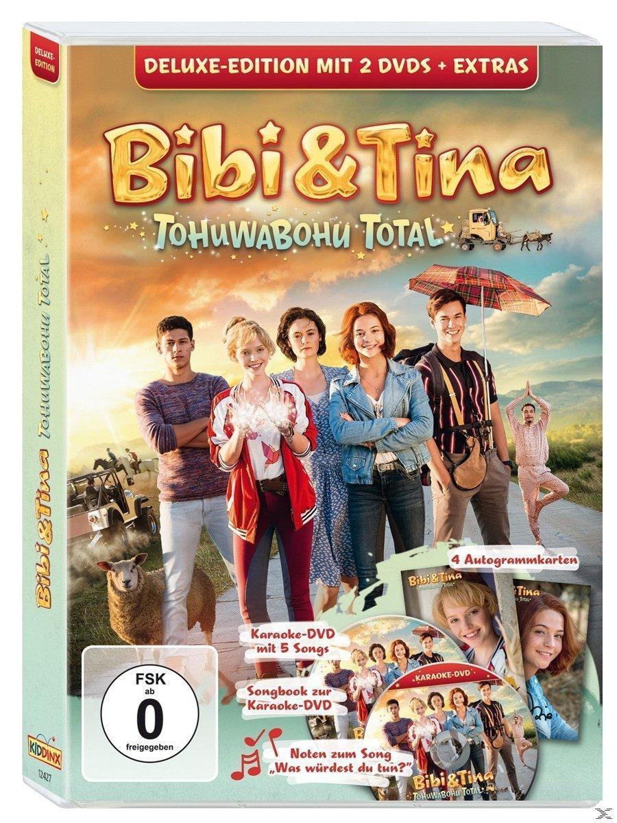 Bibi & Tina - Tohuwabohu Total Deluxe Edition (DVD) für 21,99 Euro