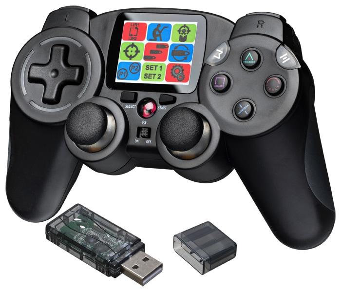 Bigben Interactive Interactive RF-Controller Quickfire 2 für PS3/PC kompatibel schwarz für 24,99 Euro