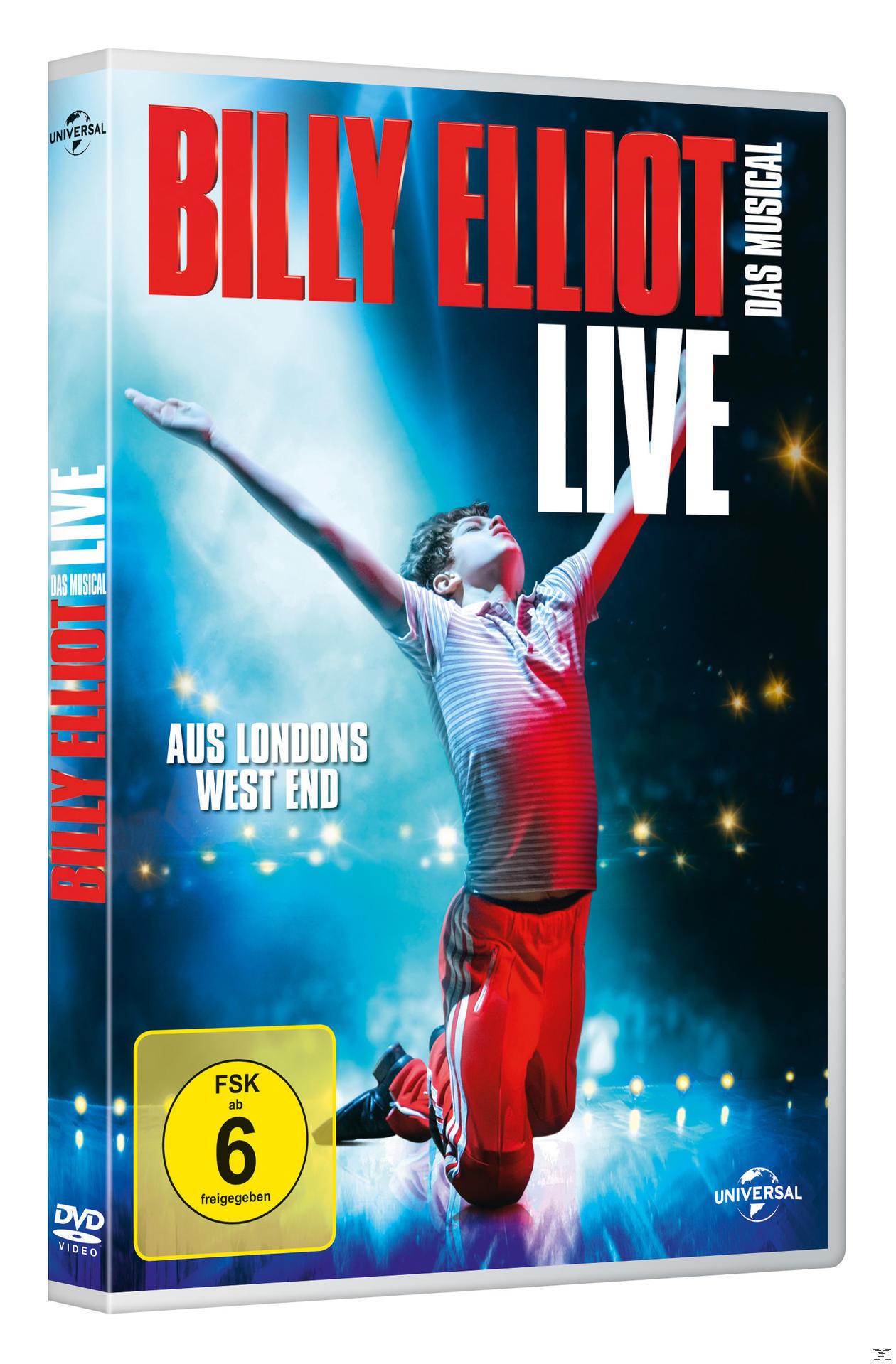 Billy Elliot - Das Musical (DVD) für 14,99 Euro