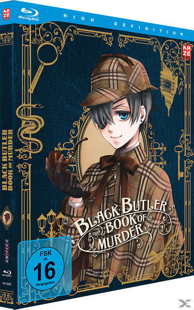 Black Butler - Book of Murder (BLU-RAY) für 39,99 Euro