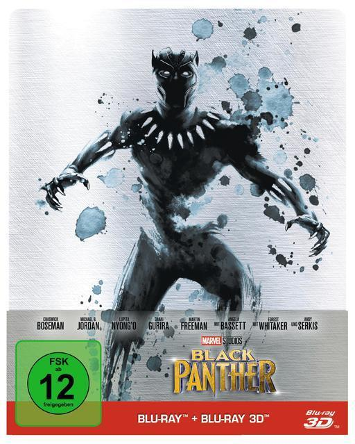 Black Panther Limited Steelcase Edition (BLU-RAY 3D/2D) für 28,99 Euro