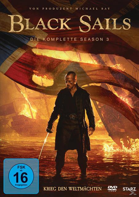 Black Sails - Die komplette Season 3 DVD-Box (DVD) für 28,99 Euro