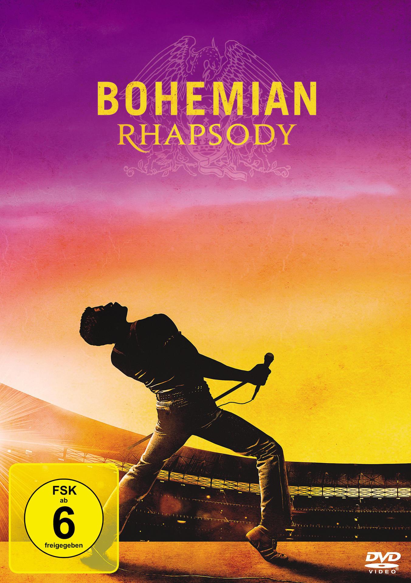 Bohemian Rhapsody (DVD) für 8,99 Euro