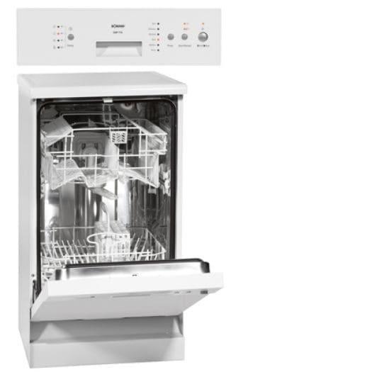 Bomann GSP 776.1 Stand-Geschirrspüler A+ 45cm unterbaufähig Überlaufsicherung für 299,00 Euro