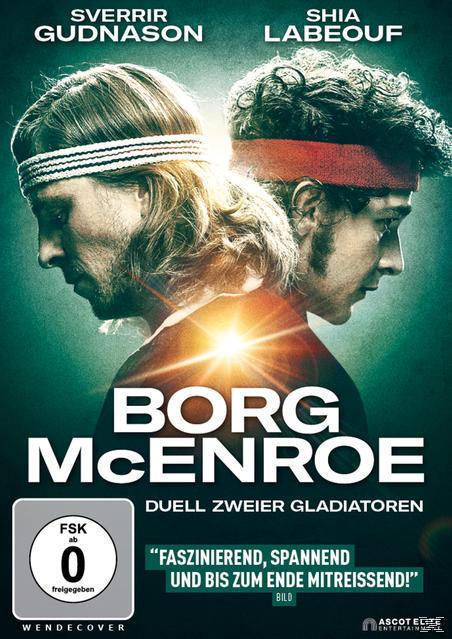 Borg vs. McEnroe - Duell zweier Gladiatoren (DVD) für 12,66 Euro