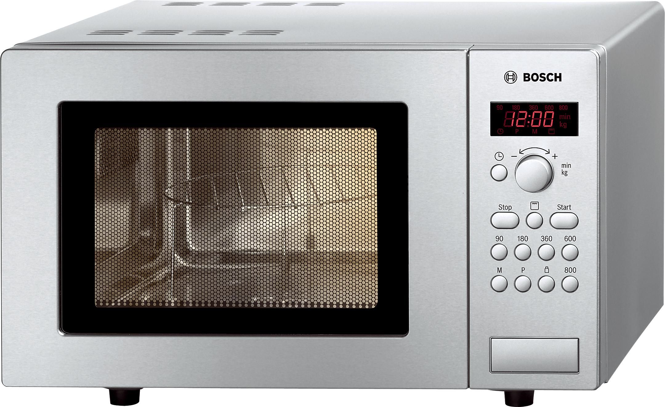 Bosch HMT75G451 800W Mikrowelle/1000W Grill 17l 5 Leistungsstufen 24,5cm für 148,99 Euro