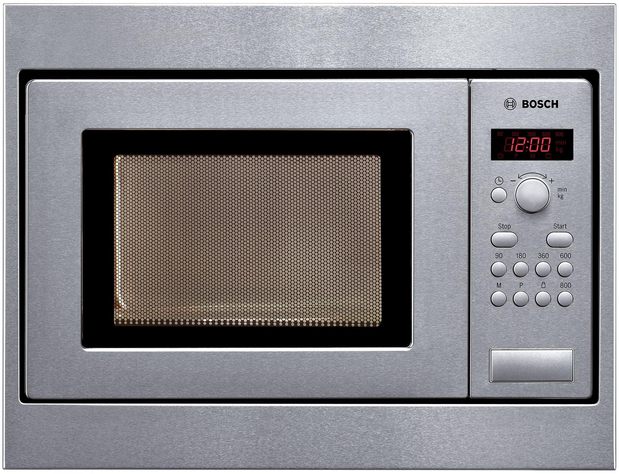 Bosch HMT75M551 38cm Einbau-Mikrowelle 800W 17l 24,5cm Schwenktür AutoPilot 7 für 477,00 Euro