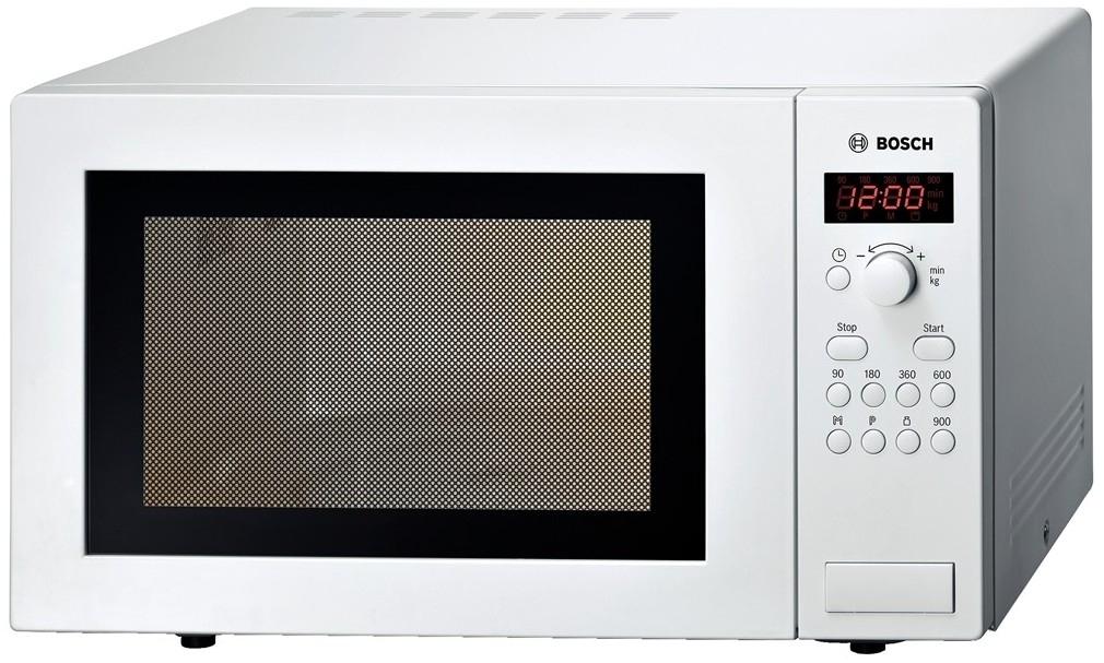 Bosch HMT84M421 Mikrowelle 900W 25l 5 Leistungsstufen 31,5cm für 147,99 Euro