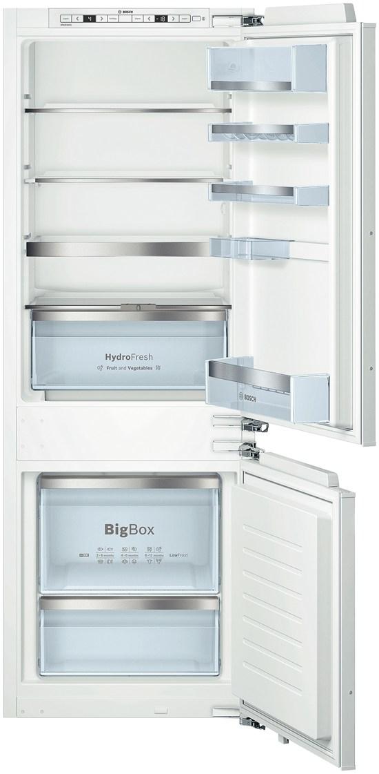 Bosch KIS77AF30 Einbau-Kühl-/Gefrierkombination 169l/61l A++ 201kWh/Jahr Flachscharnier für 1.124,00 Euro