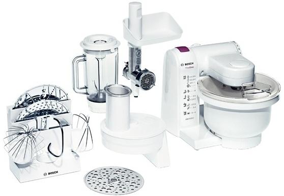 Bosch MUM4657 Universal-Küchenmaschine 3,9l Rührschüssel MultiMotion Drive für 191,99 Euro