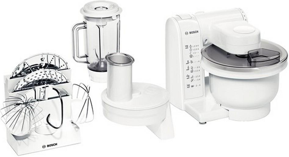 Bosch MUM4830 Küchenmaschine 3,9l Rührschüssel MultiMotion Drive SafetyFunction für 161,99 Euro