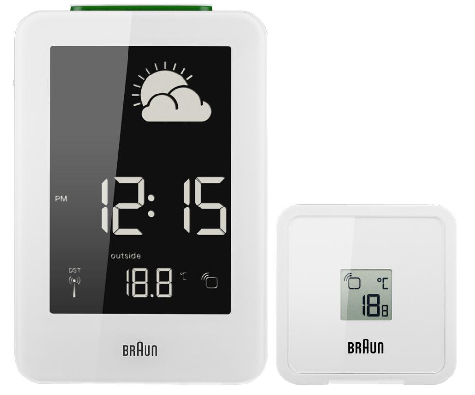 Braun 66039 Funk-Wetterstation digital Barometer-Wetterprognose für 109,99 Euro