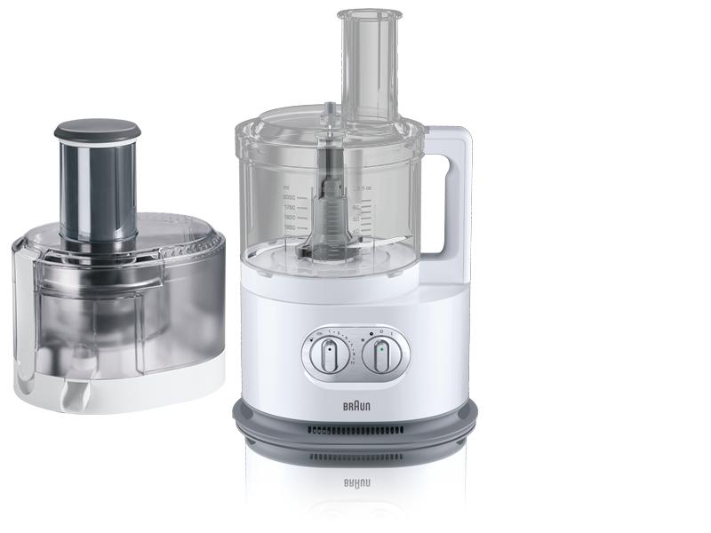 Braun FP 5160 Identity Collection Kompakt-Küchenmaschine 1000W 2l 11 Stufen für 259,99 Euro