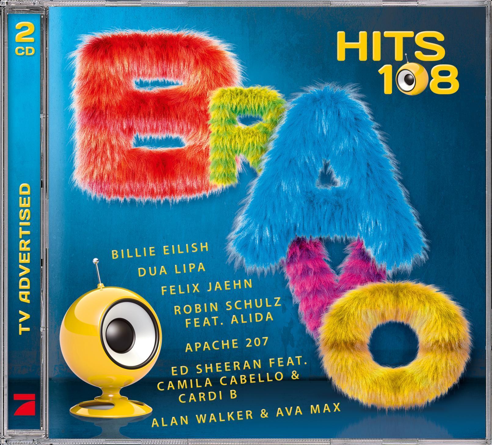 Bravo Hits,Vol.108 (VARIOUS) für 17,99 Euro