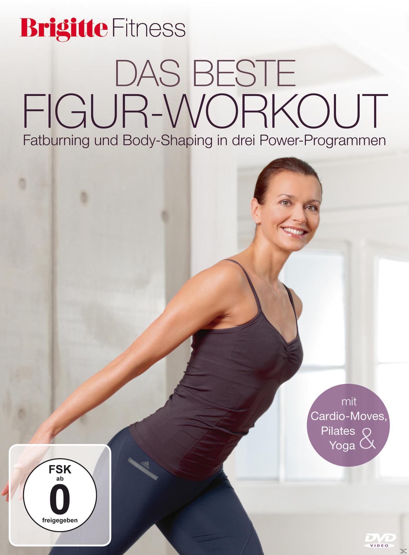 Brigitte - das beste Figur-Workout - Fatburning und Body-Shaping in drei Power-Programmen (DVD) für 16,99 Euro