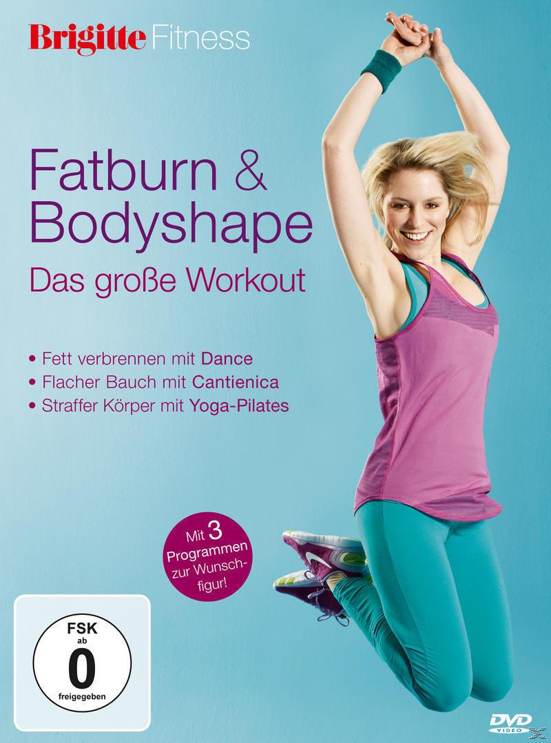 Brigitte - Fatburn & Bodyshape - Das große Workout (DVD) für 16,99 Euro