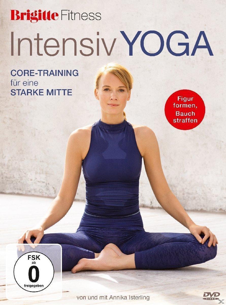 Brigitte - Intensiv Yoga - Core-Training für eine starke Mitte (DVD) für 16,99 Euro