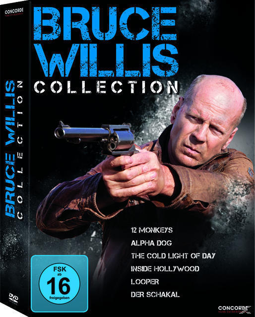 Bruce Willis Collection DVD-Box (DVD) für 17,99 Euro
