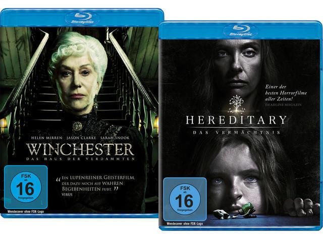 Bundle: Winchester / Hereditary LTD. - 2 Disc Bluray (BLU-RAY) für 7,79 Euro