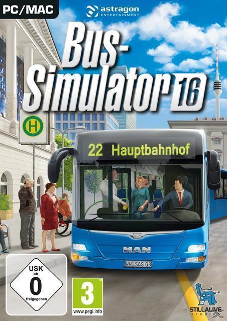 Bus-Simulator 16 (PC) für 24,99 Euro