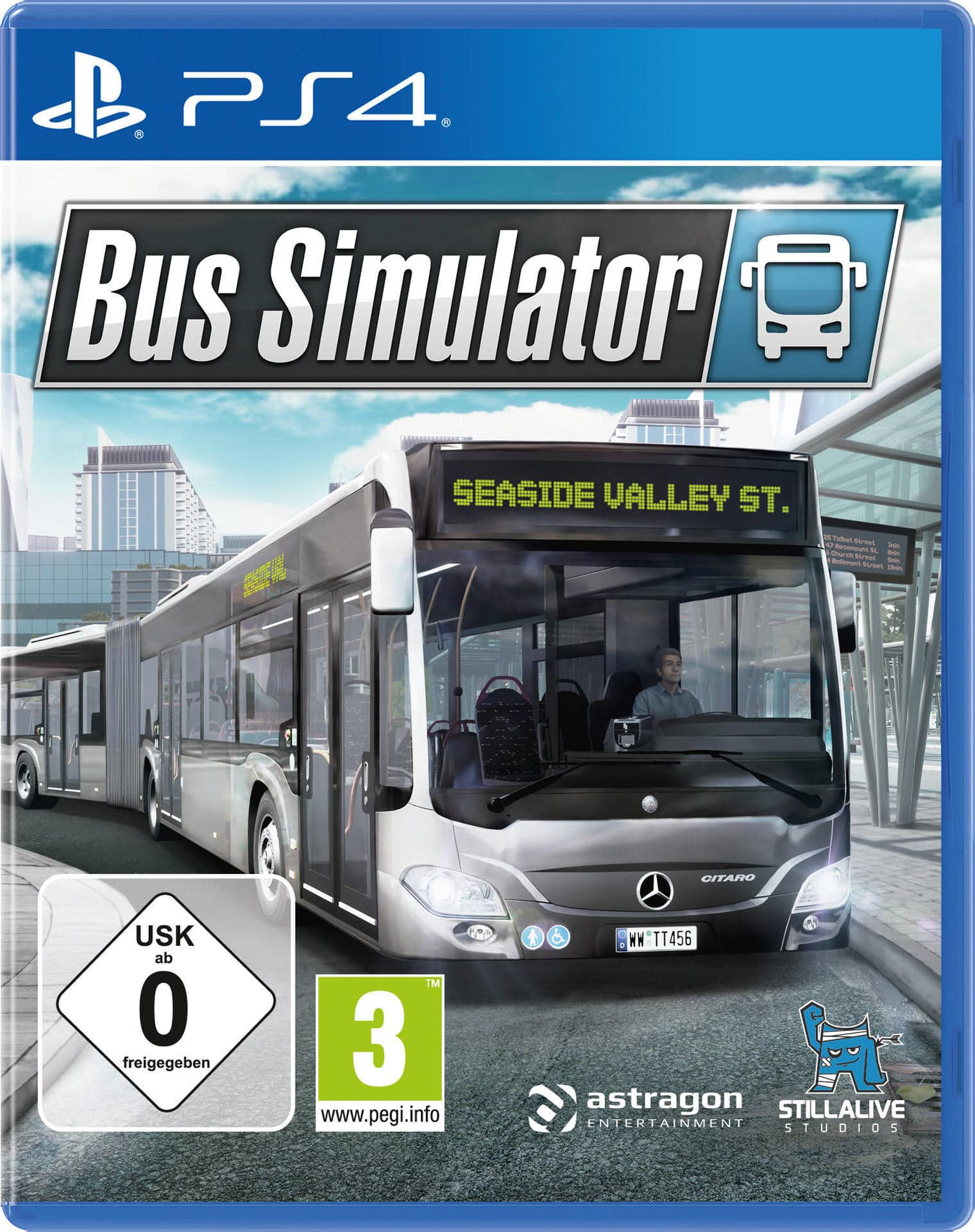 Bus Simulator (PlayStation 4) für 39,99 Euro