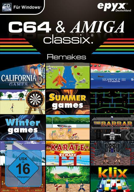 C64 & Amiga Classix Remakes (PC) für 12,99 Euro