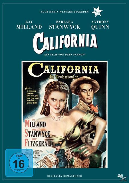 California (DVD) für 14,99 Euro
