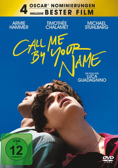 Call Me by Your Name (DVD) für 9,99 Euro