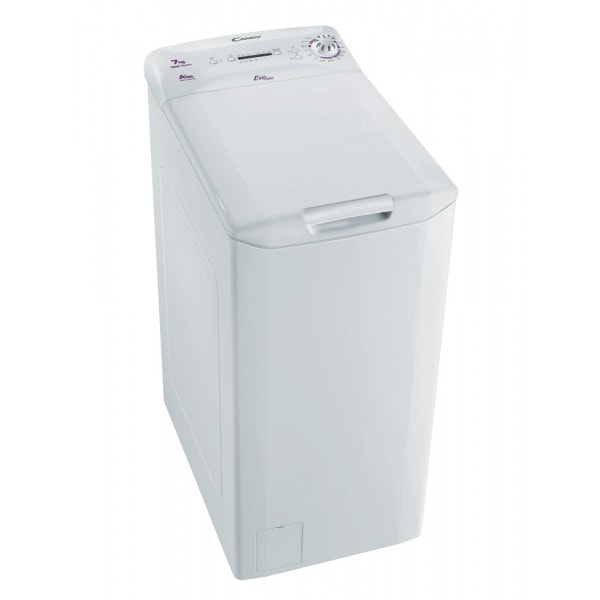 Candy EVOT 12071D Waschmaschine 7kg 1200 U/min A+ Toplader Überlaufschutz für 399,00 Euro