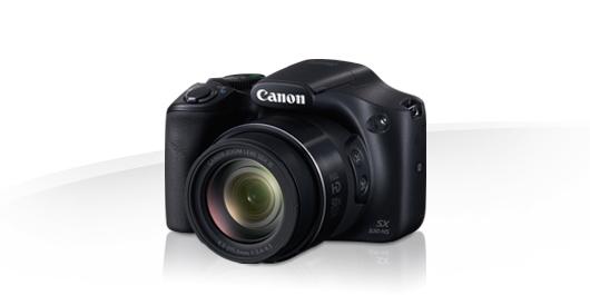 Canon PowerShot SX530 Kompaktkamera 7,5cm/3'' 16MP Full-HD WLAN für 249,00 Euro