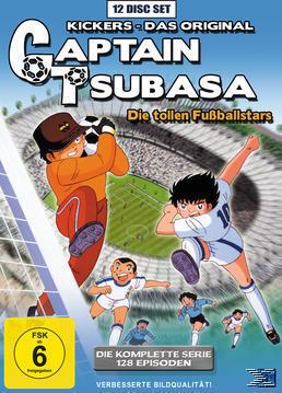 Captain Tsubasa: Die tollen Fußballstars - Die komplette Serie DVD-Box (DVD) für 59,99 Euro