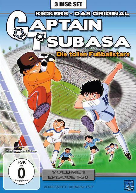 Captain Tsubasa: Die tollen Fußballstars - Volume 1 (DVD) für 14,99 Euro