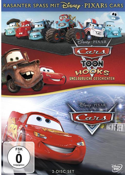 Cars / Hooks unglaubliche Geschichten (DVD) für 9,99 Euro