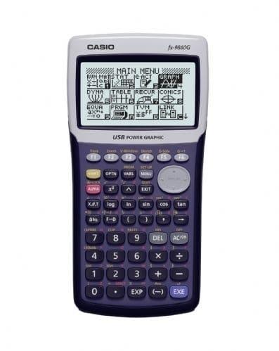 Casio FX-9860 GII Grafiktaschenrechner 1,5MB Flash-Rom Speicher für 124,99 Euro