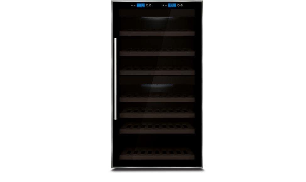 Caso Wine Master Touch 66 Weinkühlschrank 2 Temperaturzonen 66 Flaschen  für 877,31 Euro